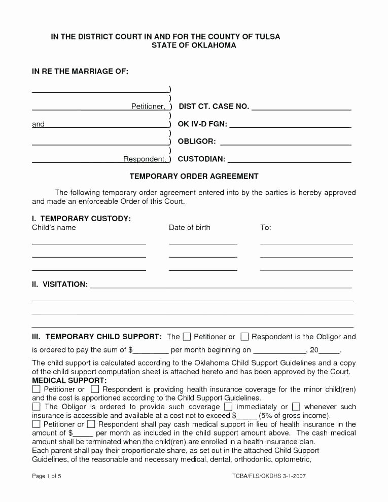 Free Temporary Guardianship form Template Beautiful Temporary Custody Template Custody Temporary Custody