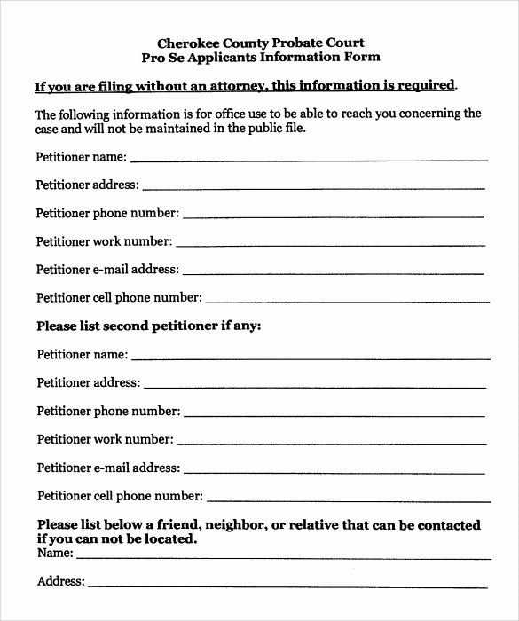 Free Temporary Guardianship form Template Luxury 9 Temporary Guardianship form Templates to Download