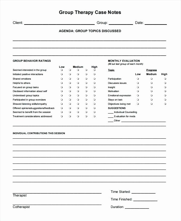 Free therapy Notes Template New Counseling Progress Note Template – Azserverfo