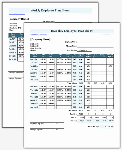 Free Time Sheet Template Fresh Time Sheet Template for Excel Timesheet Calculator