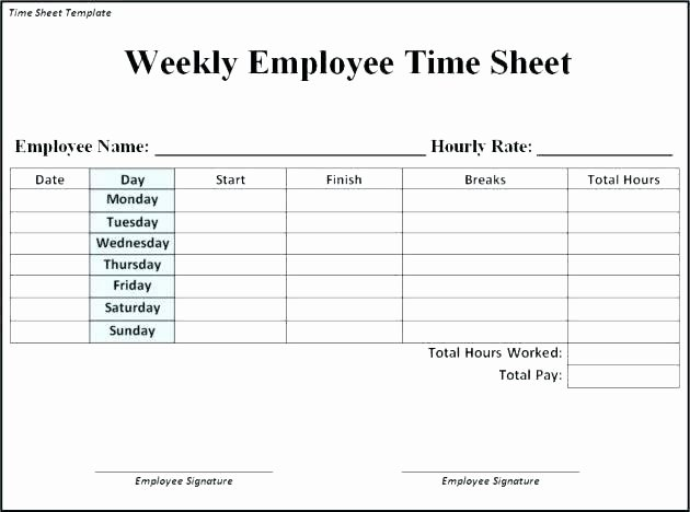 Free Time Sheet Template Luxury Payroll Template Secure for Multiple Employees G Word Bi