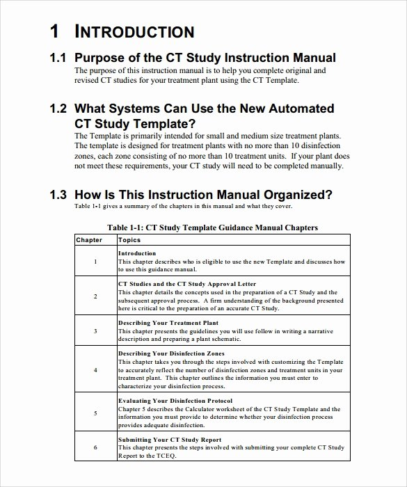 Free Training Manual Template Best Of 10 Instruction Manual Samples