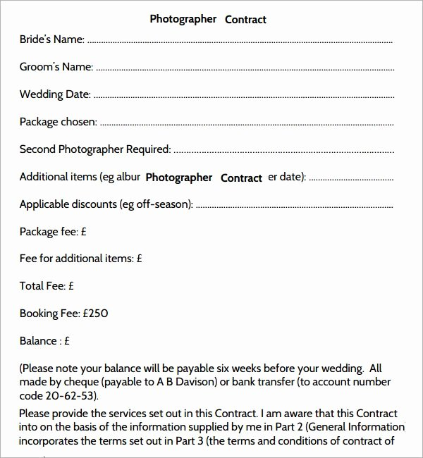 Free Wedding Photography Contract Template Awesome 25 Best Ideas About Graphy Contract On Pinterest