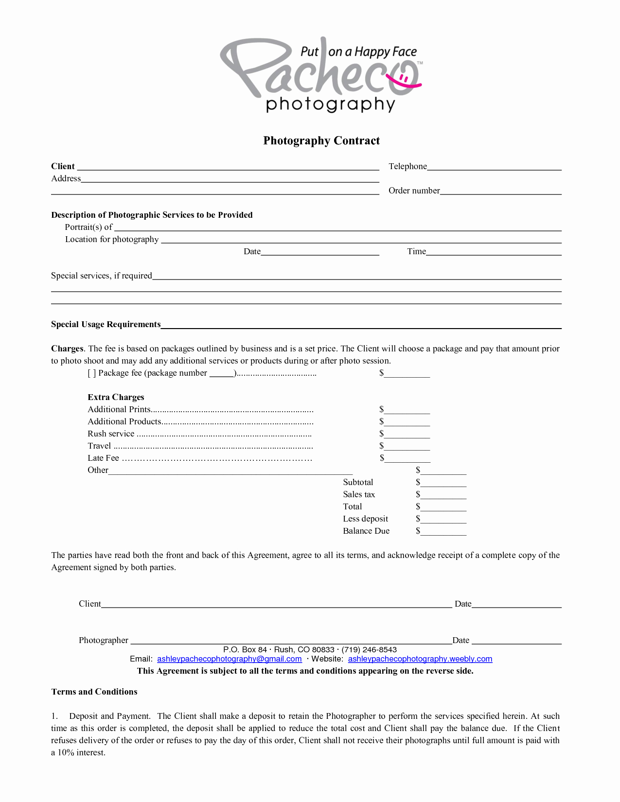 Free Wedding Photography Contract Template Fresh Graphy Contract Template Beepmunk