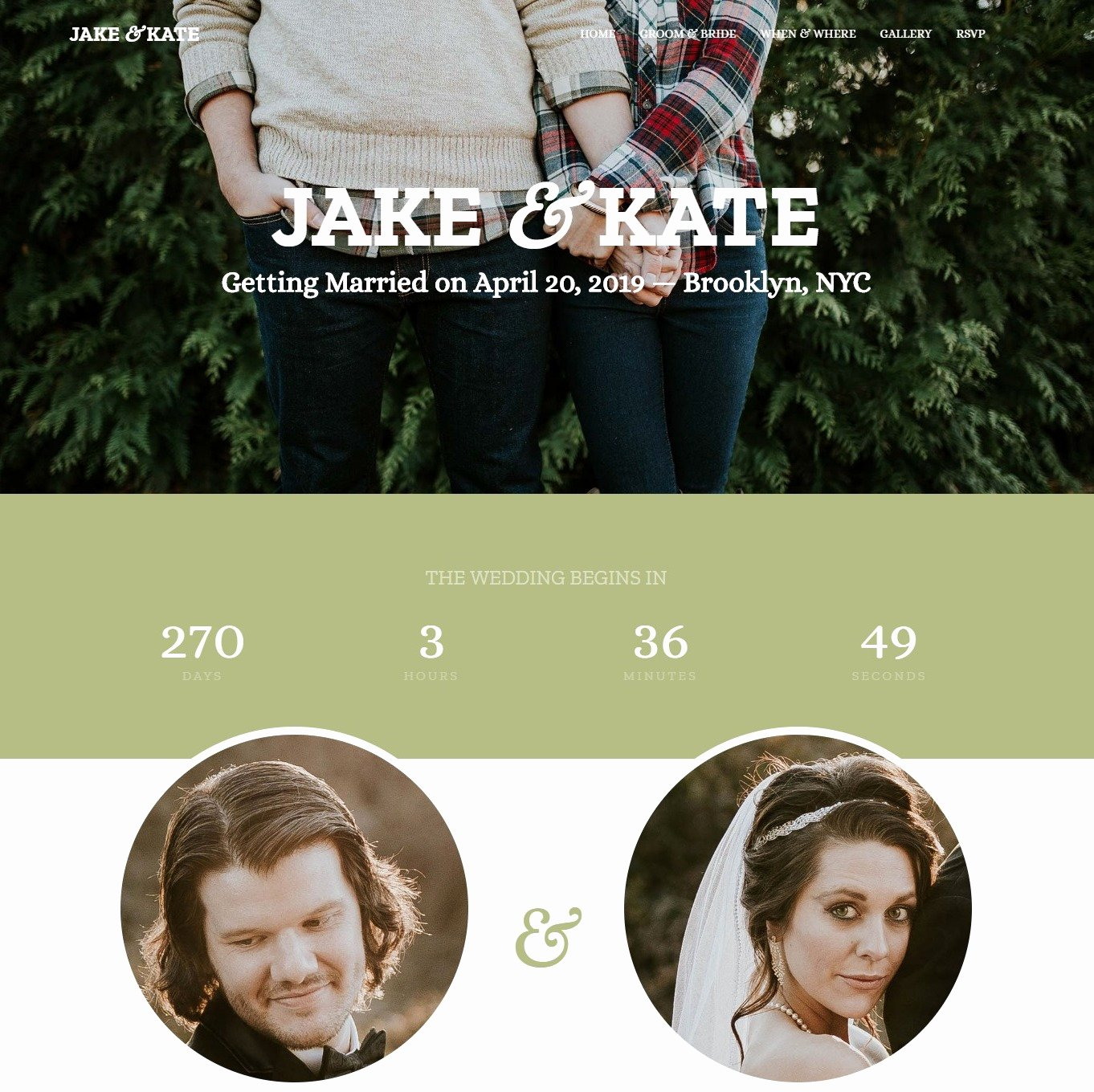 Free Wedding Website Template Awesome 20 Elegant Free HTML Bootstrap Wedding Websites for Your