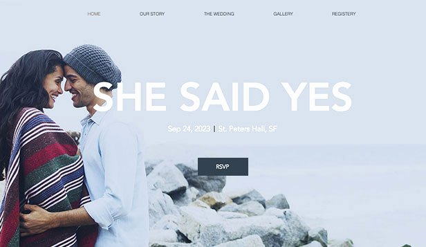 Free Wedding Website Template Awesome Weddings & Celebrations Website Templates events