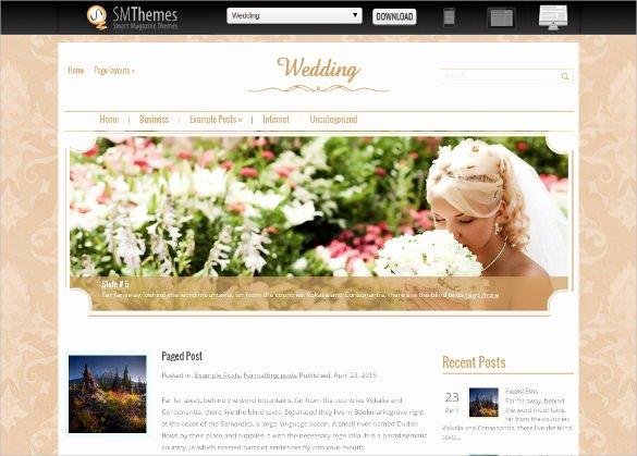 Free Wedding Website Template Beautiful 18 Free Wedding Website themes & Templates