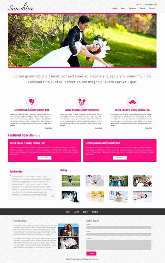 Free Wedding Website Template Beautiful 70 Best Wedding Website Templates Free & Premium