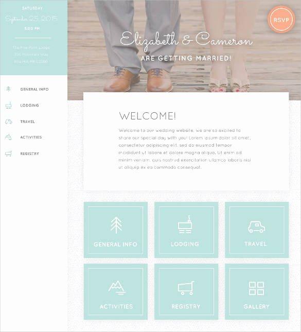 Free Wedding Website Template Best Of 37 Free Wedding Website themes & Templates