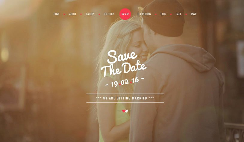 Free Wedding Website Template Best Of 70 Best Wedding Website Templates Free & Premium