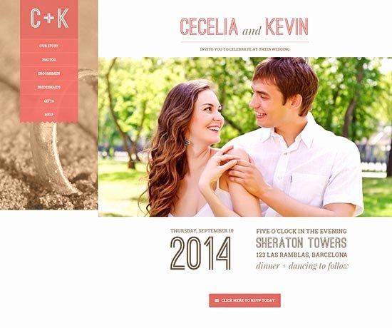 Free Wedding Website Template Elegant 70 Best Wedding Website Templates Free & Premium