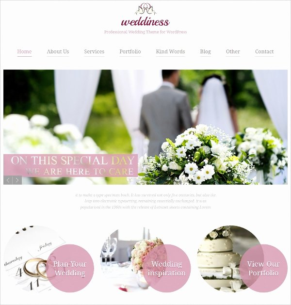 Free Wedding Website Template Inspirational 39 Wedding Website themes & Templates