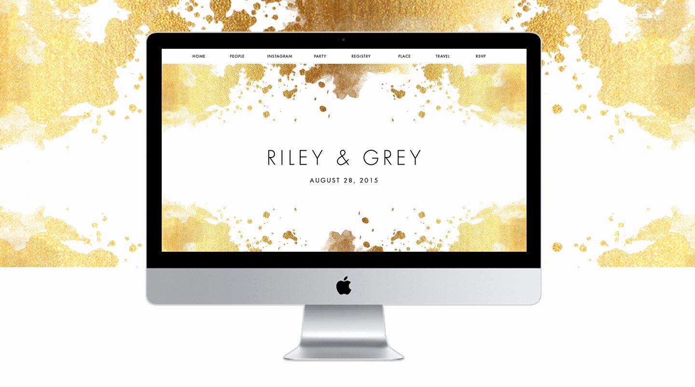 Free Wedding Website Template Inspirational Luxury Wedding Websites