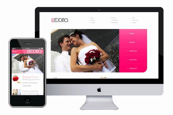 Free Wedding Website Template Luxury Wedding Responsive HTML5 Template HTML5xcss3