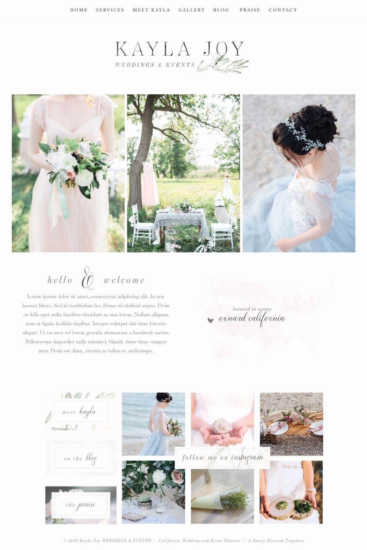 Free Wedding Website Template New Website Design Wix Template Logo Design Editable