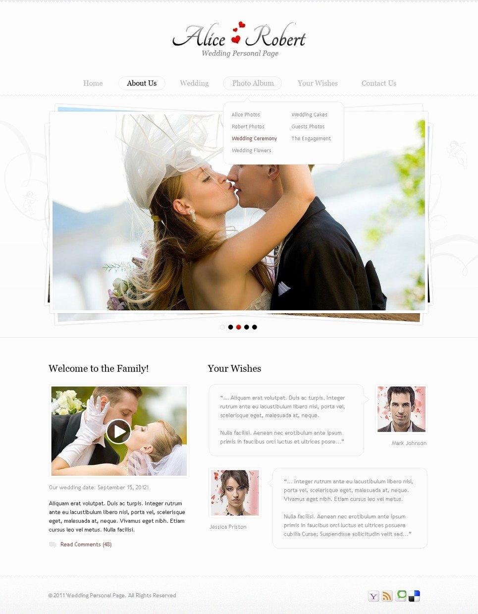 Free Wedding Website Template Unique Wedding Website Template