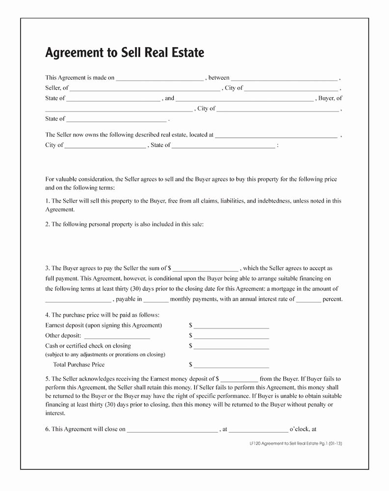 Free wholesale Contract Template Awesome wholesale Agreement to Sell Real Estate Abflf120 Discount