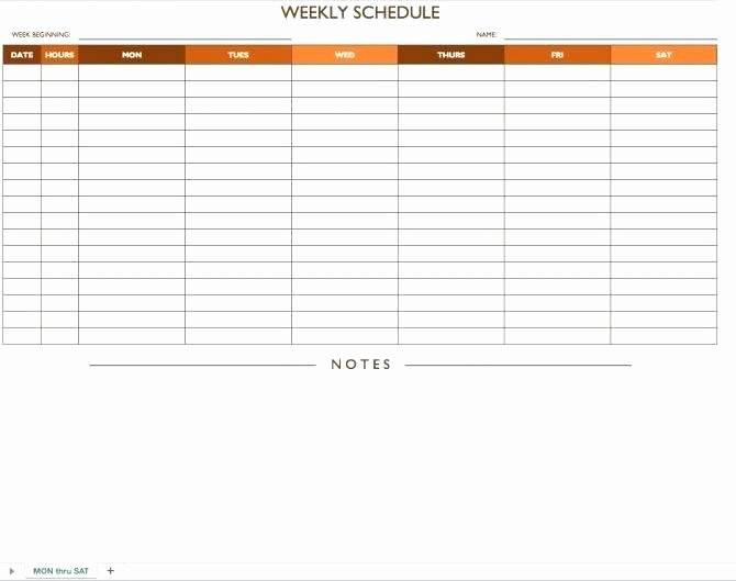 Free Work Schedule Template Lovely Weekly Planner Template for Teachers Day Printable