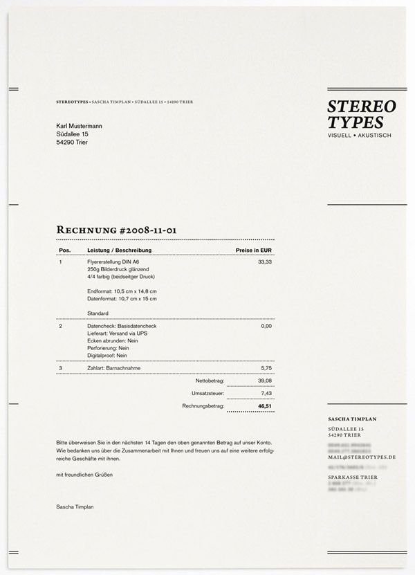 Freelance Design Invoice Template Beautiful Invoice Design Resume Gridz