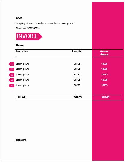 Freelance Design Invoice Template Lovely 20 Professionally Crafted Freelance Invoice Templates