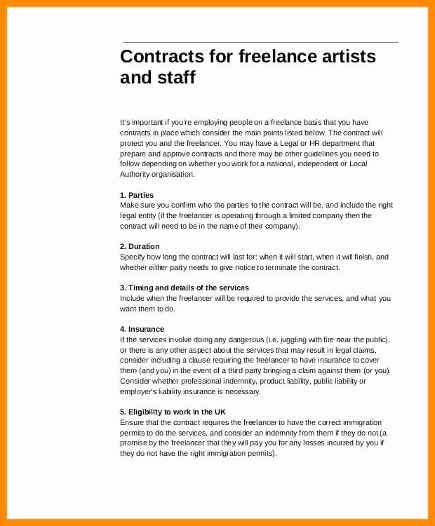Freelance Makeup Artist Contract Template Best Of Freelance Makeup Artist Contract Template Agreement
