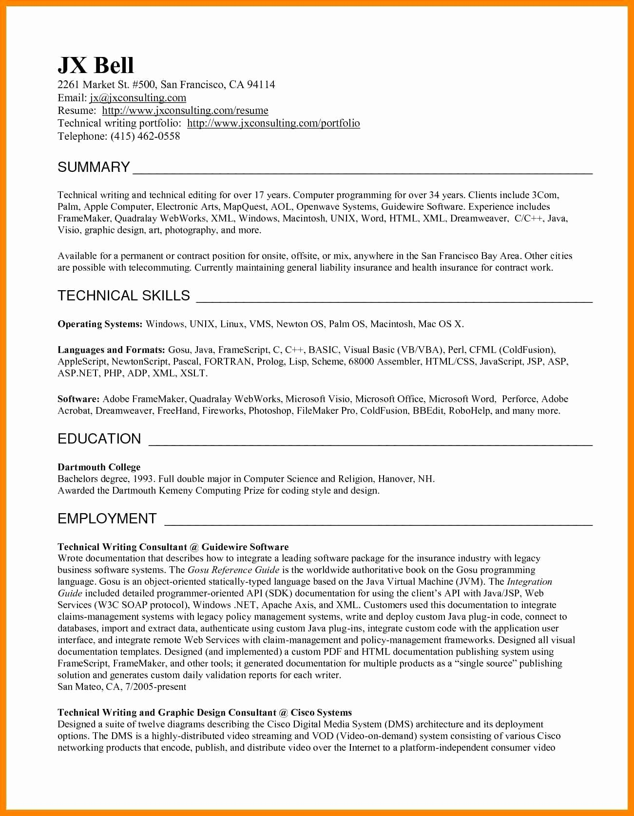 Freelance Writer Resume Template Awesome Content Writer Portfolio Sample Save Freelance Grant