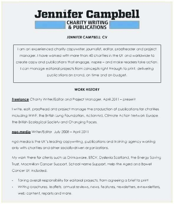 Freelance Writer Resume Template Elegant Freelance Writer Resume Sample Best Technical Writer Cv