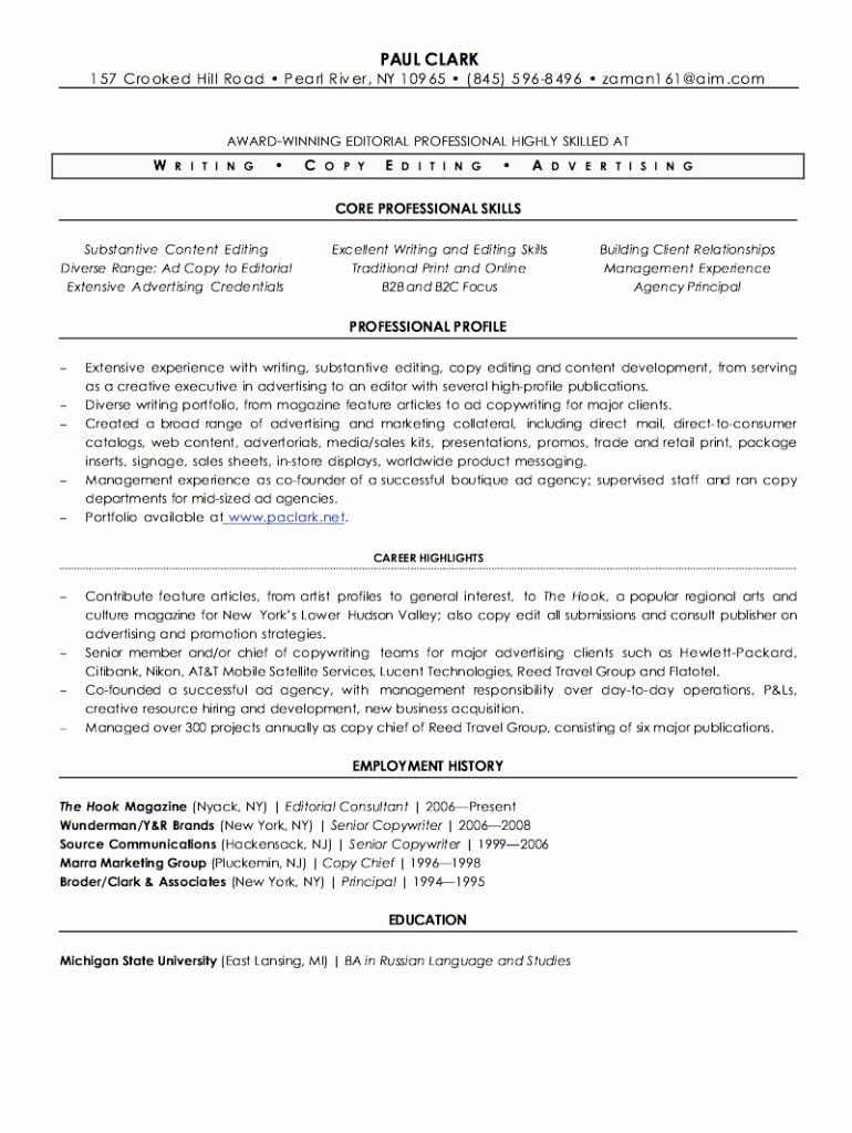 Freelance Writer Resume Template Fresh Resume Writer Job Ukrandiffusion Freelance Writer
