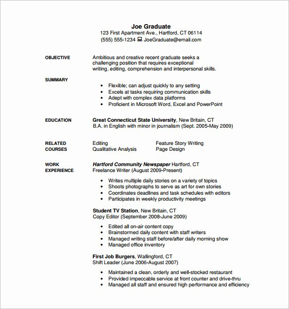 Freelance Writer Resume Template Lovely 13 Writer Resume Templates Doc Excel Pdf