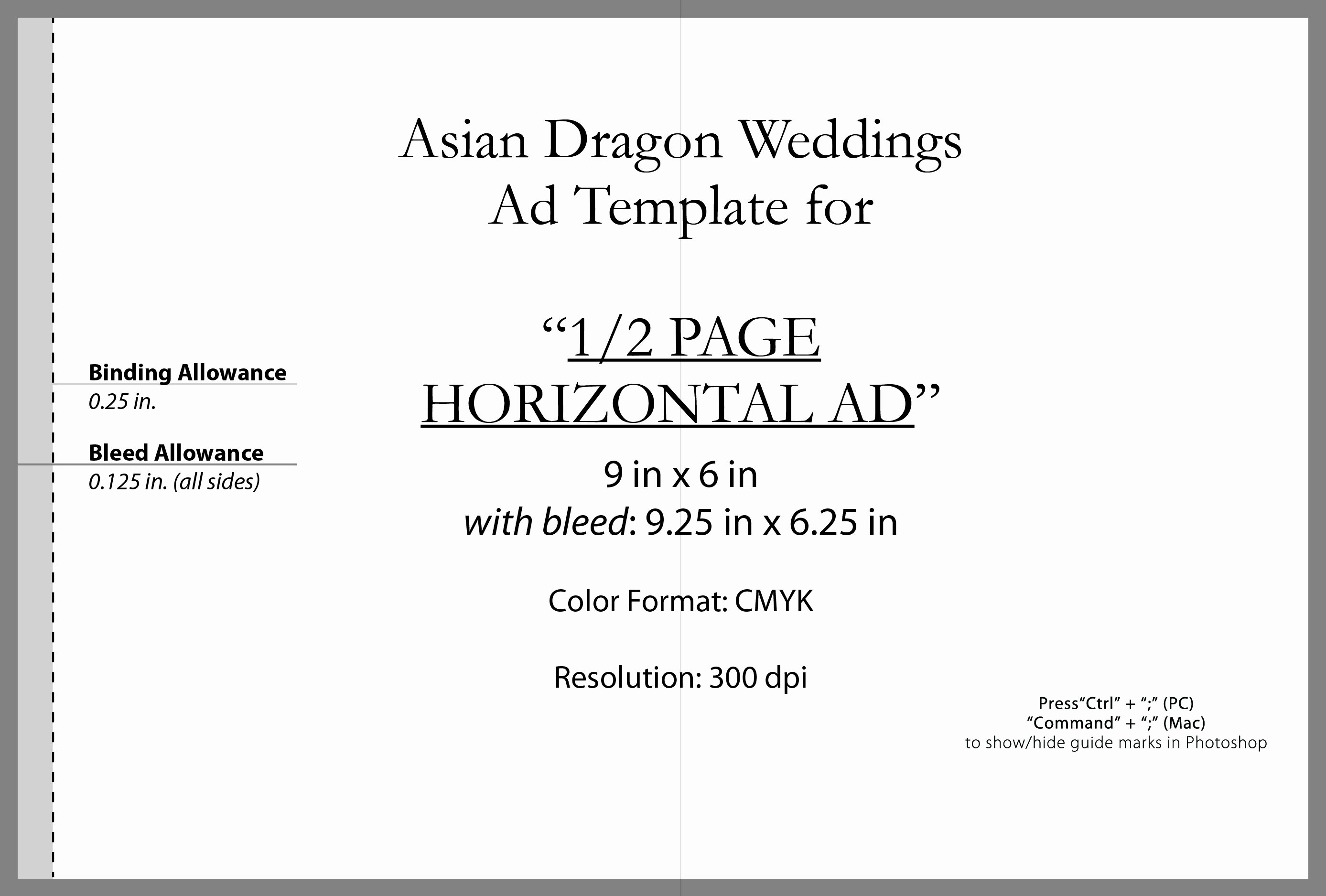 Full Page Ad Template Luxury Advertise