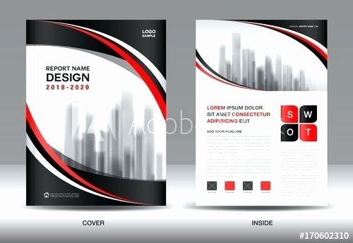 Full Page Ad Template Luxury Template Brochure Template Layout Blue Cover Design