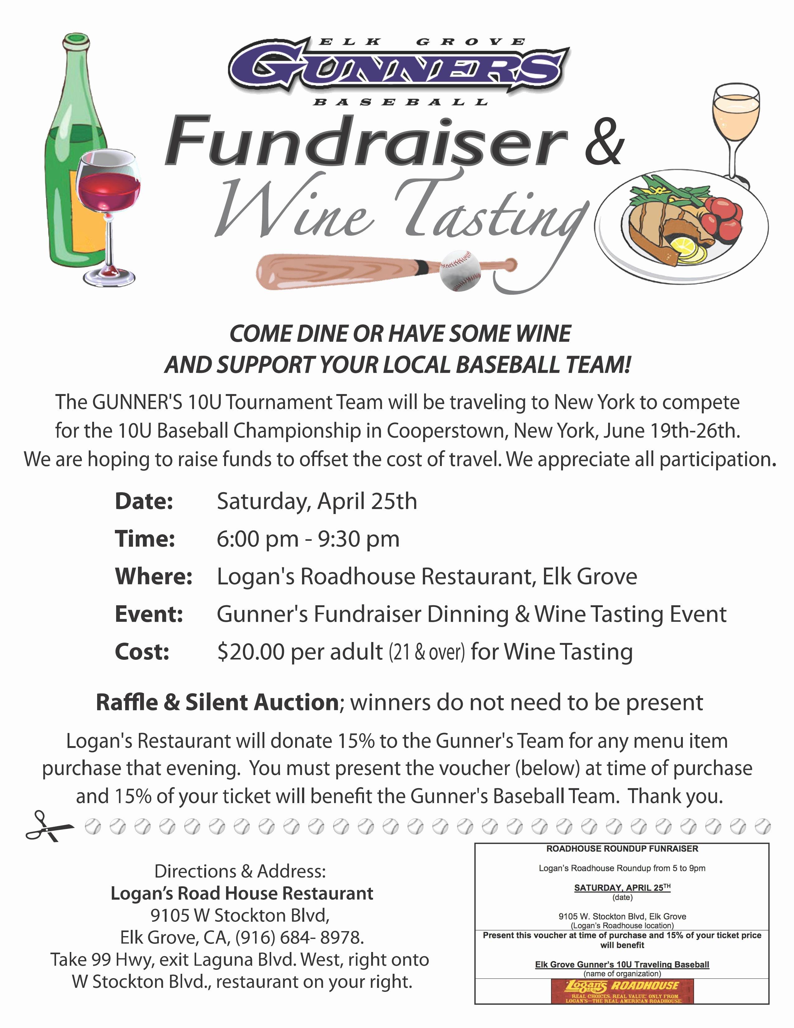 Fundraiser Flyer Template Free Beautiful Baseball Fundraiser Flyer Template Yourweek Eca25e
