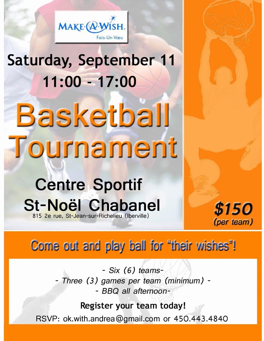 Fundraiser Flyer Template Free Beautiful Basketball Fundraiser