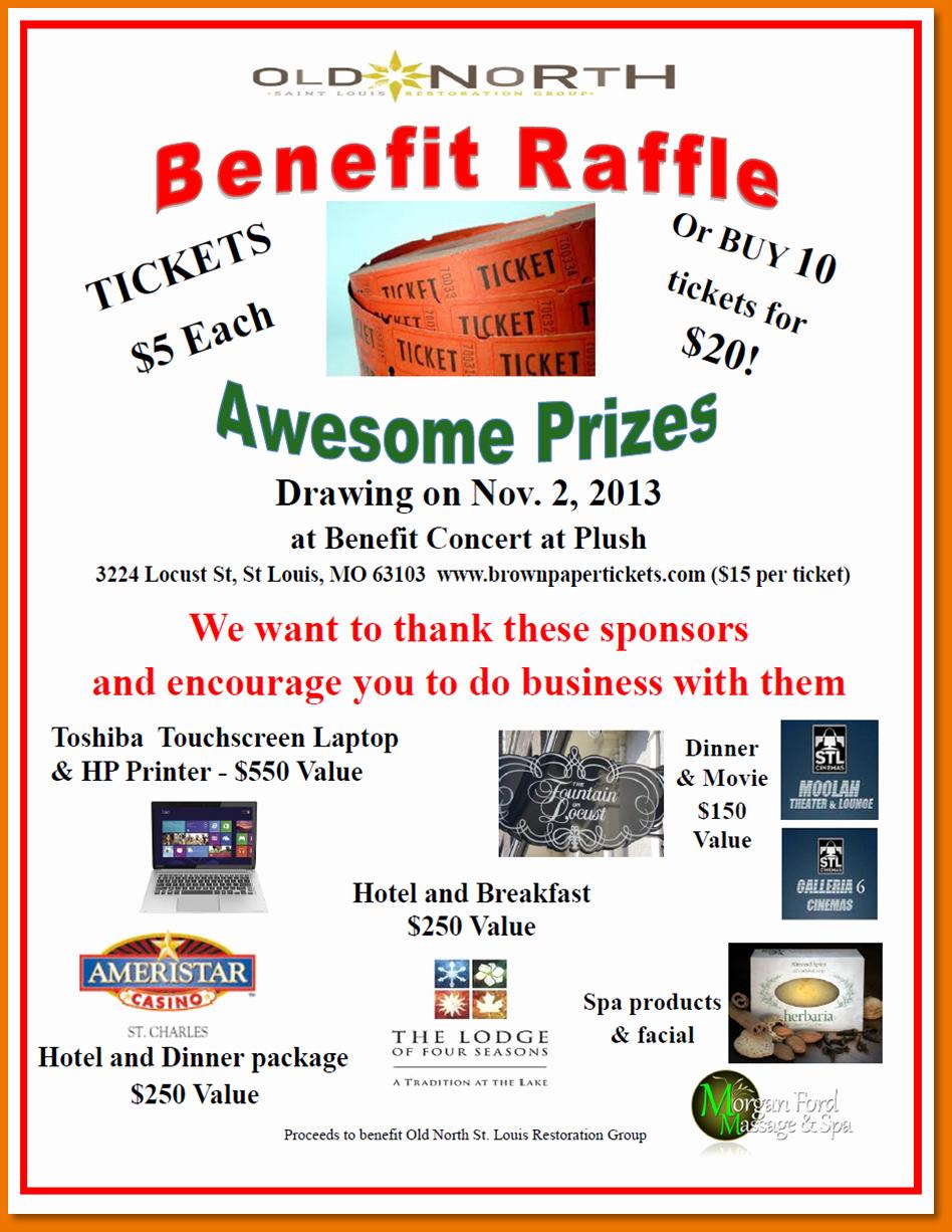 Fundraiser Flyer Template Free Inspirational Raffle Flyer Template Yourweek Eca25e