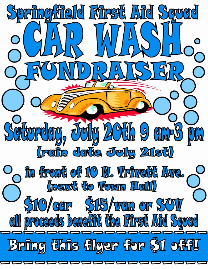 Fundraiser Flyer Template Free New Car Wash Flyer 2013 Fundraising Pinterest