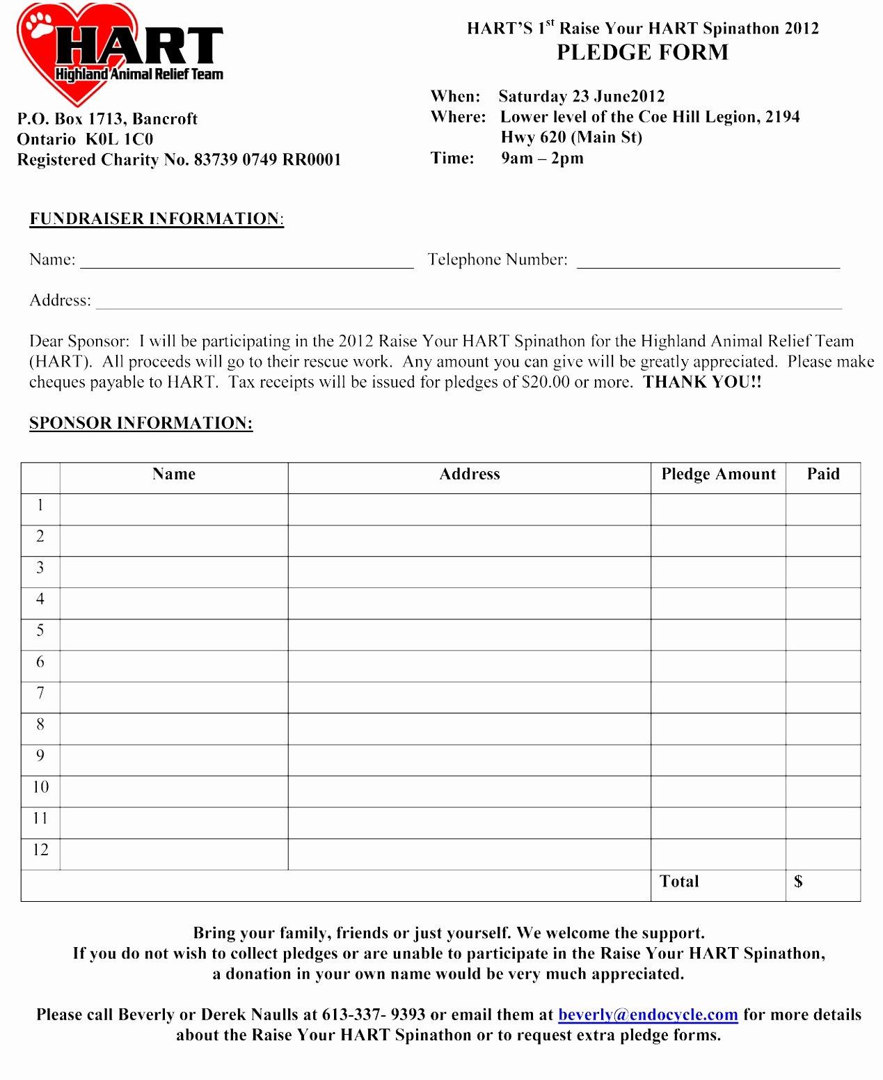Fundraiser form Template Free Unique Fundraiser form Template Free – Versatolelive