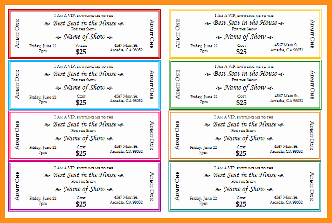 Fundraiser Ticket Template Free Beautiful Fundraiser Ticket Templates Entown Posters
