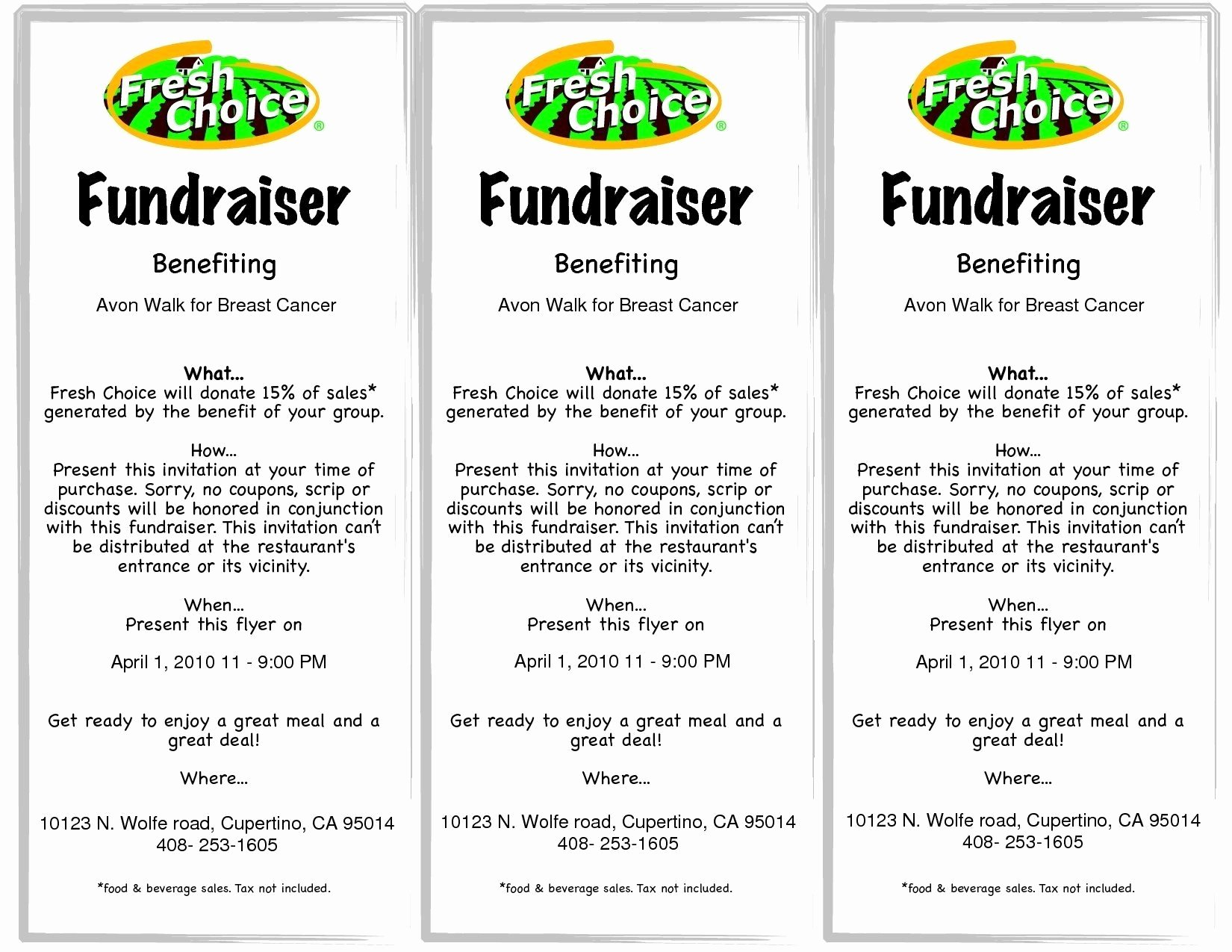 Fundraiser Ticket Template Free Lovely Fundraiser Ticket Template Free Download