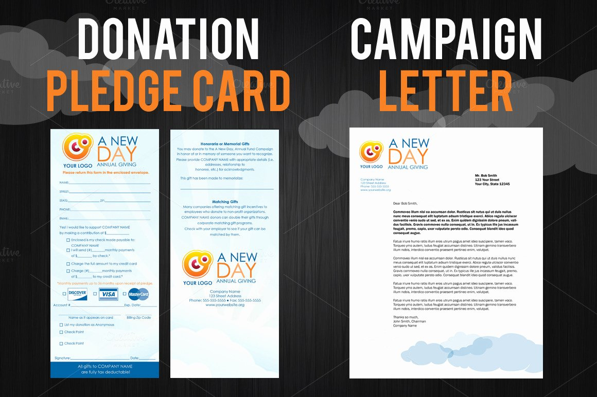Fundraising Campaign Plan Template New Fundraising Campaign Pack Brochure Templates On Creative