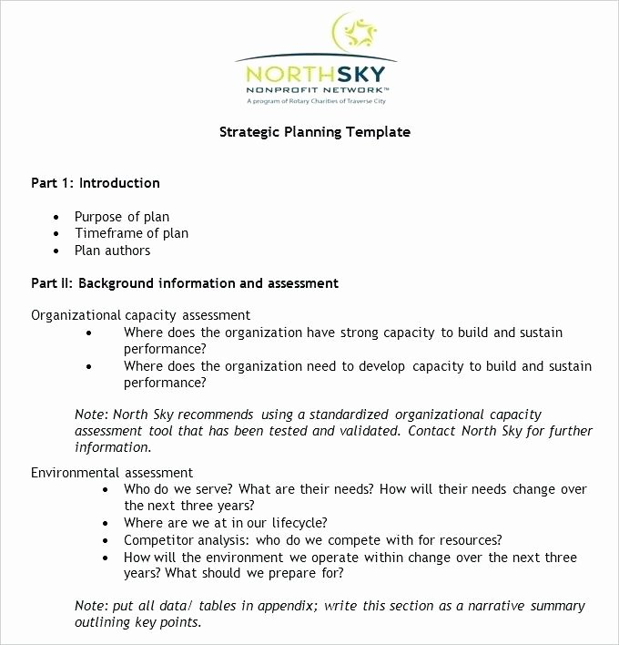 Fundraising Development Plan Template Unique Non Profit Business Plan Template Fundraising for Profits