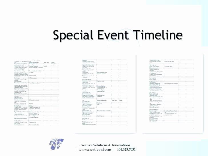 Fundraising event Planning Template Elegant Fundraising event Planning Timeline Template Charity
