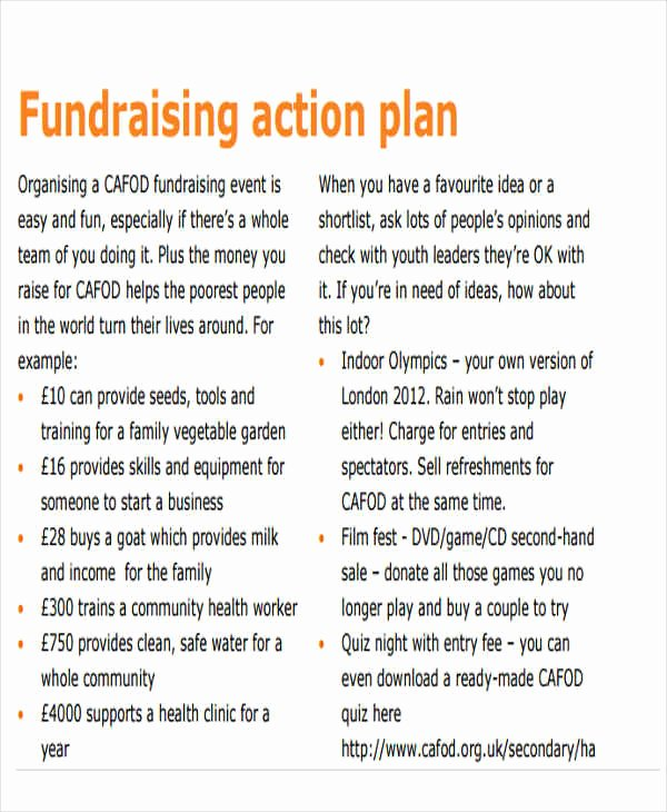 Fundraising event Planning Template Fresh 19 event Plan Templates In Pdf