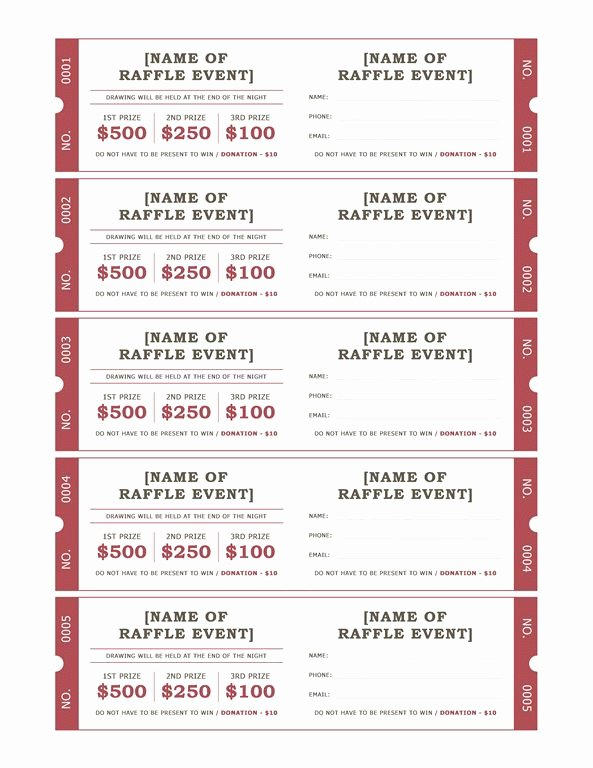 Fundraising Ticket Template Free New 25 Best Ideas About Raffle Tickets On Pinterest