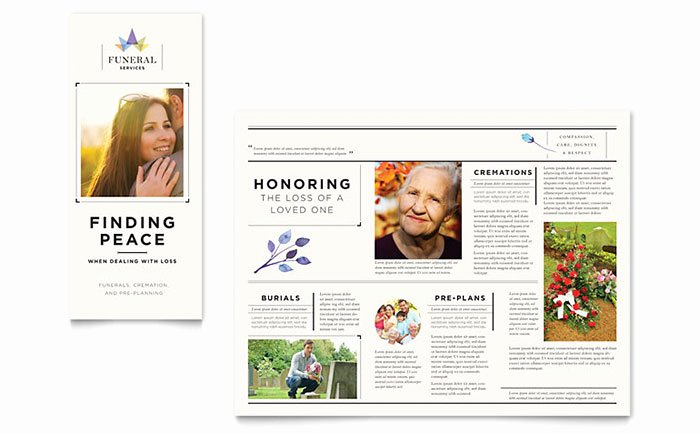 Funeral Brochure Template Free Awesome 99 Funeral Brochure Examples Funeral Brochure Examples