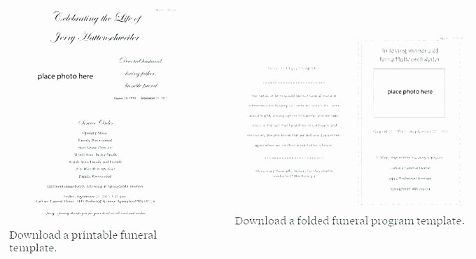Funeral Service Outline Template Beautiful Funeral Program Outline Example aretha Franklin – Notions