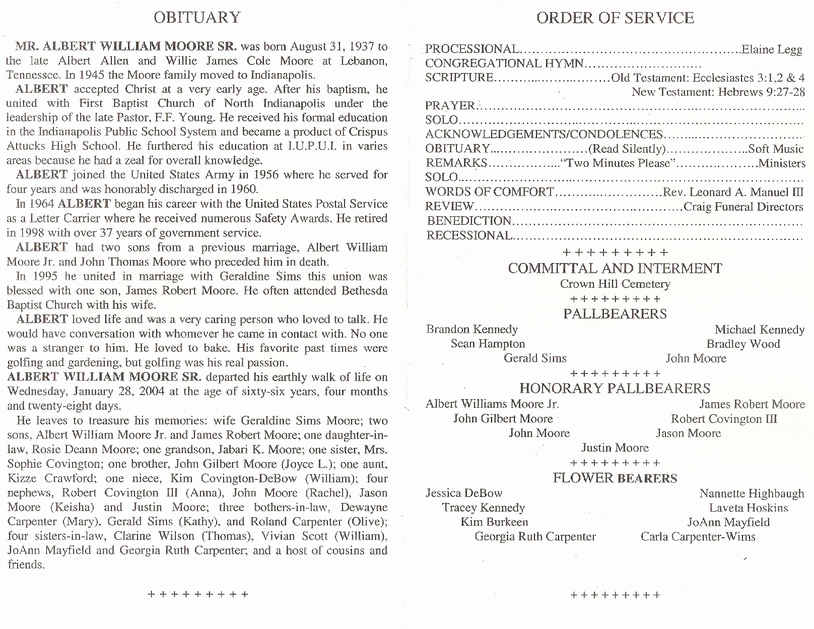 Funeral Service Outline Template Unique Funeral order Service Outline