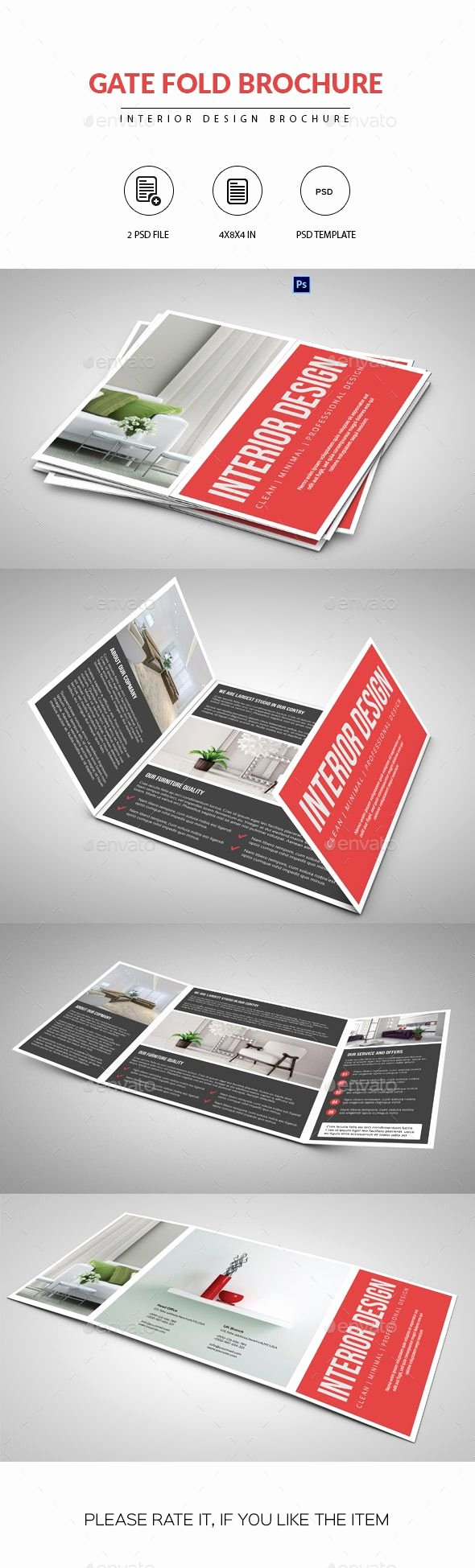 Gate Fold Brochure Template Awesome 1000 Ideas About Direct Mail Design On Pinterest