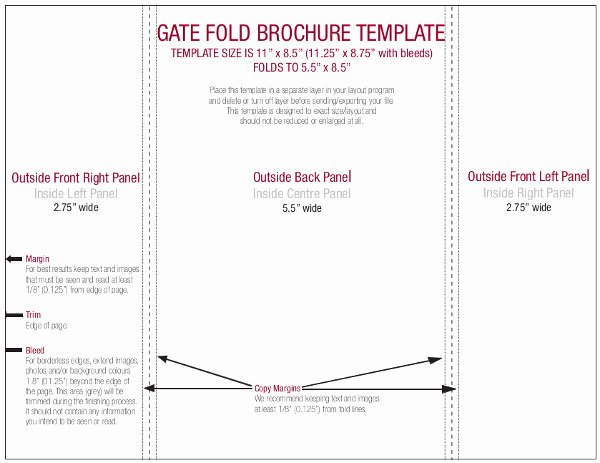 Gate Fold Brochure Template Beautiful Gate Fold Brochure Template Indesign Gate Fold Brochure