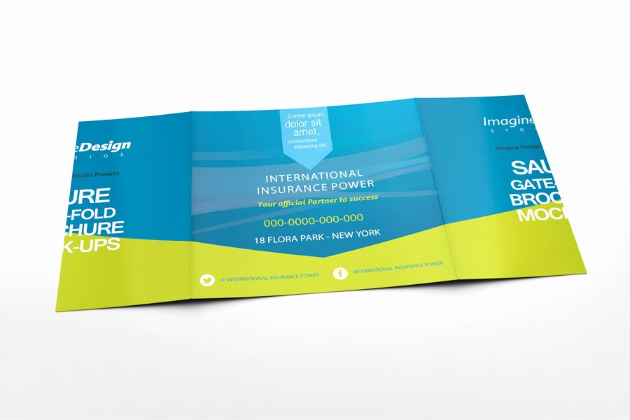 Gate Fold Brochure Template Best Of Square Gate Fold Brochure Mockup On Behance
