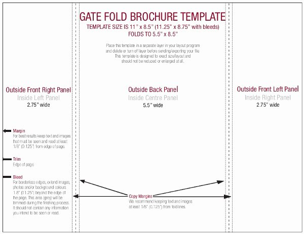 Gate Fold Brochure Template Fresh 15 Gate Fold Brochure Template Pdf Psd Ai Vector Eps